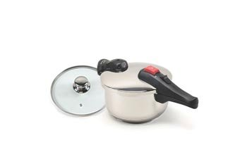 Chef's Design SS Pressure Cooker - 4.75 Quart (4.5 Liter)