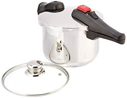 Chef's Design SS Pressure Cooker - 6.3 Quart (6 Liter)