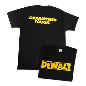DeWalt T-Shirt - Black - XXXXXLarge
