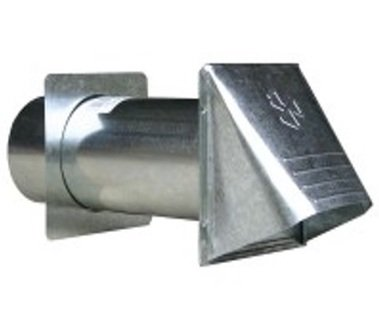Dryer Vent Hood 4 - All Metal