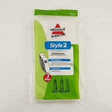 Bissell Vacuum Bags - Style 2 (3 Pack)