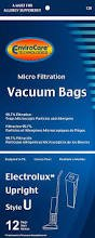 Electrolux Vacuum Bags Style U - Fits Uprights Since 1986 (12-Pack)