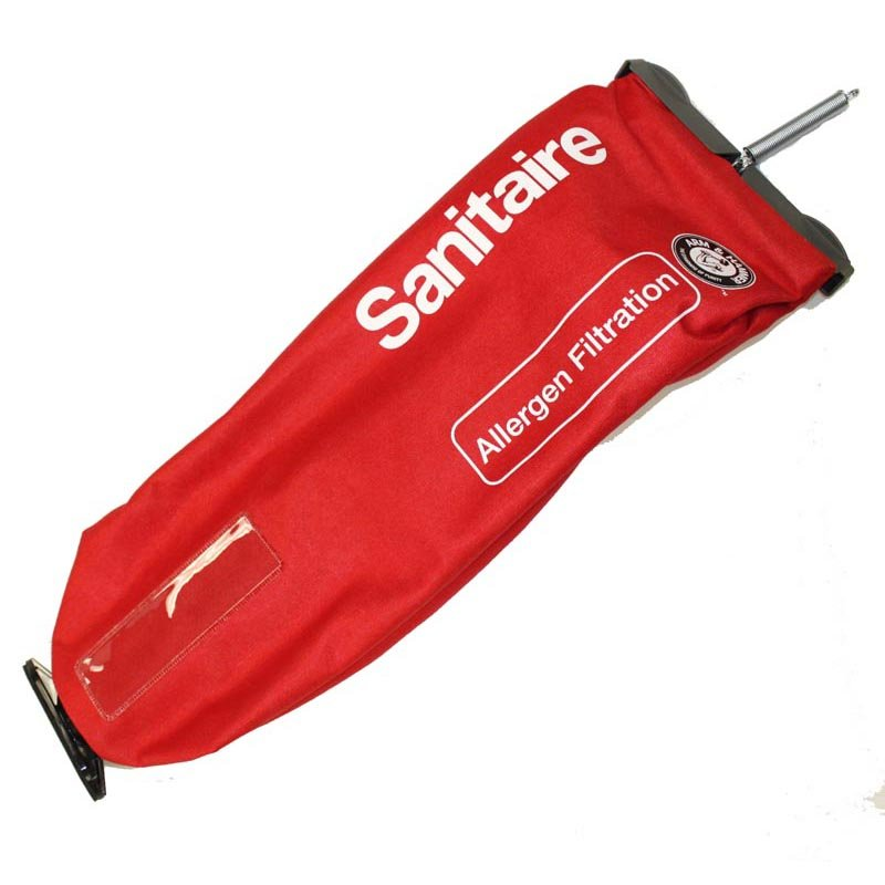 Sanitaire Vacuum Outer Bag - Screw Mount Style Uses ST Bags (Red)