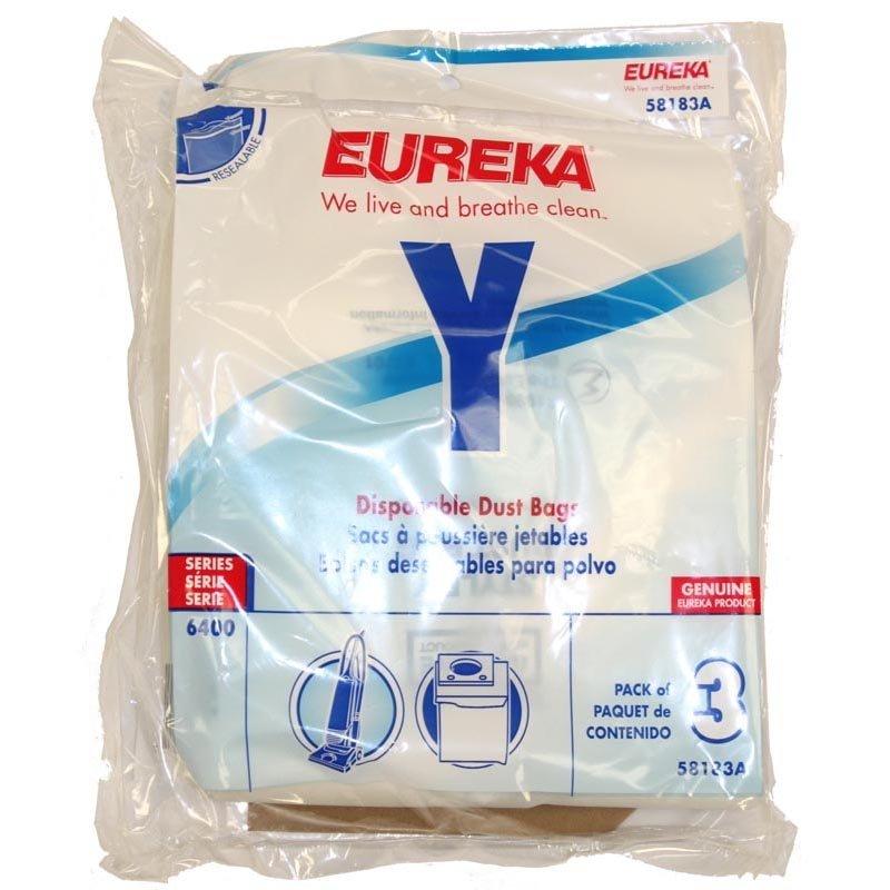 Eureka Vacuum Bags - Style Y (3-pack)