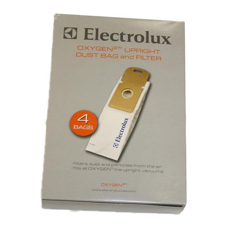 Electrolux Vacuum Bag - Oxygen 3 Upright Bag (4-Pack + Filter)