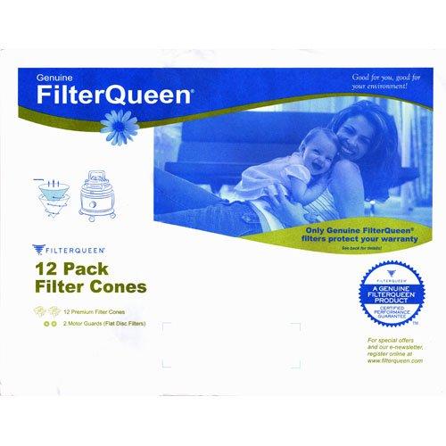 Genuine Filter Queen Vacuum Cones (12pk)
