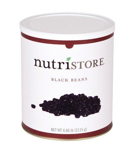Nutristore Black Beans - 4.66 lb