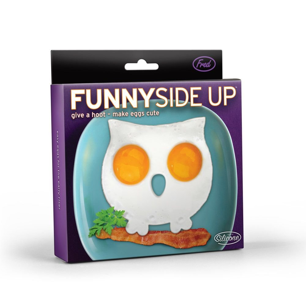FunnySide Up - Owl