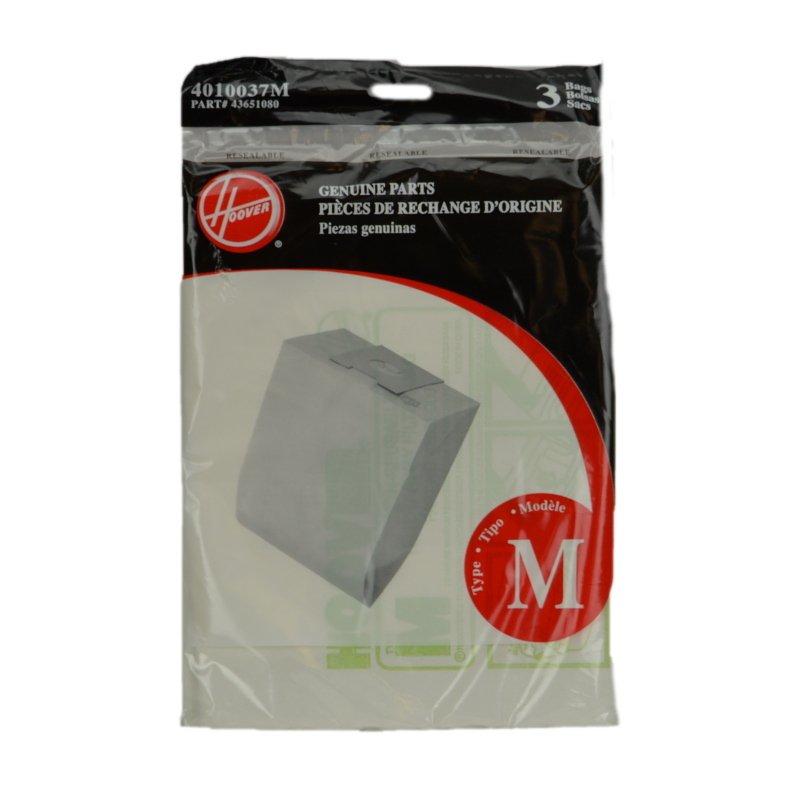 Hoover Vacuum Bags - Style M (3-pack)