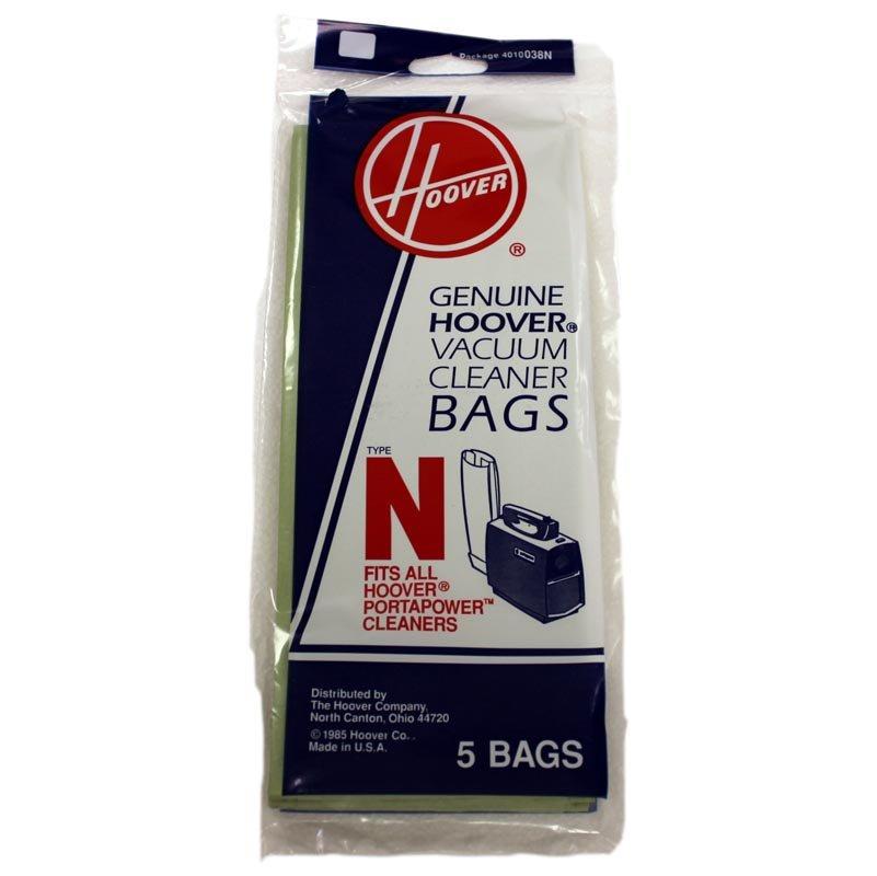 Hoover Vacuum Bags - Style N (5-pack)