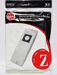 Hoover Vacuum Bags - Style Z (3-pack)