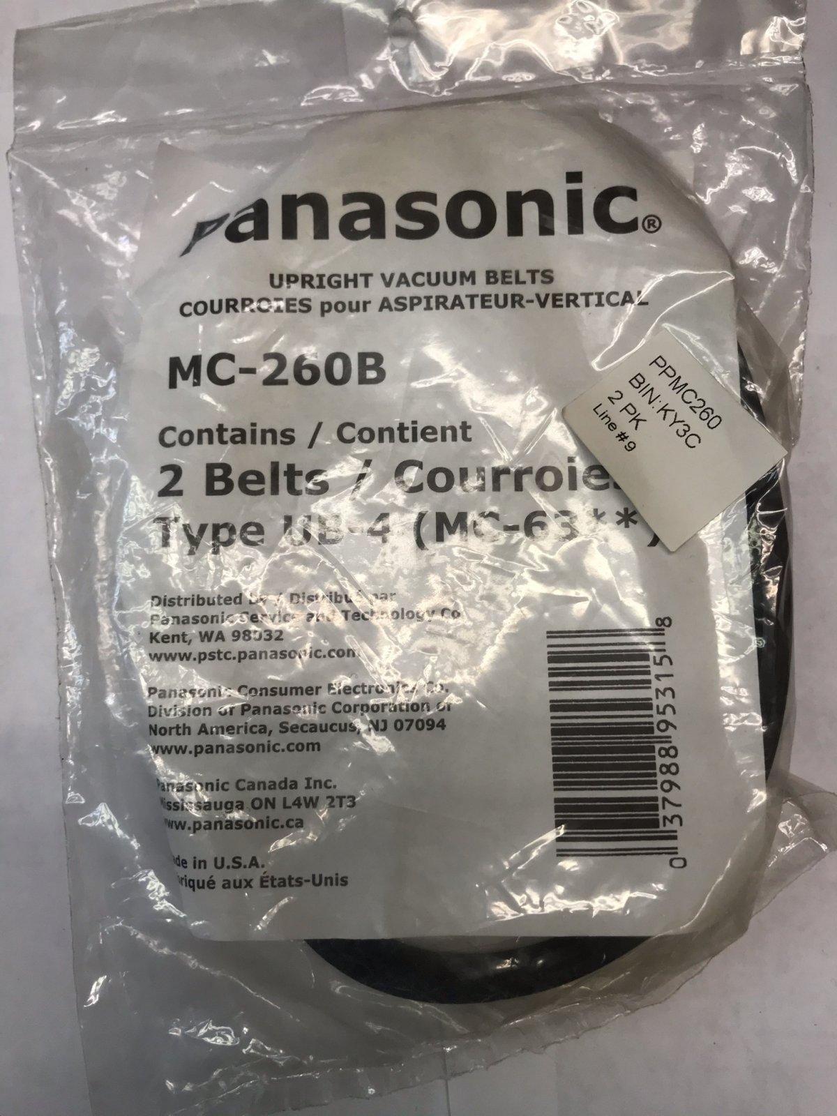 Panasonic Belt Type UB4 - 2pk