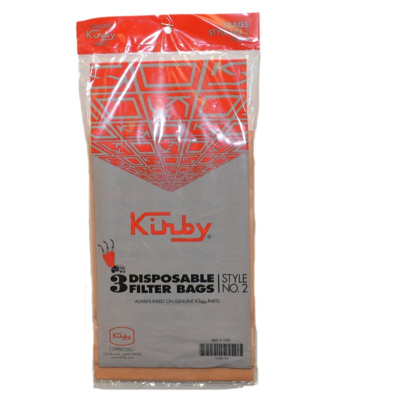 Kirby Vacuum Bag - For Heritage & Legend Series - Style 2 (3-Pack)