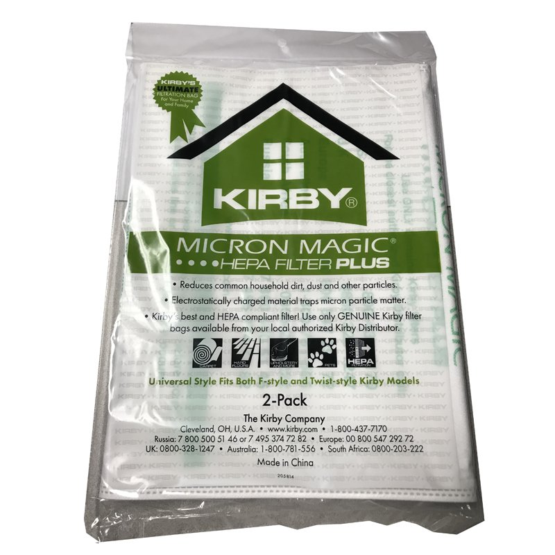 Kirby Universal Vacuum Bag 2pk - Micro Allergen