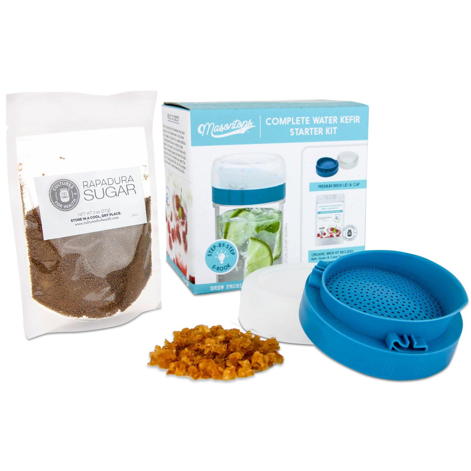 Complete Water Kefir Starter Kit