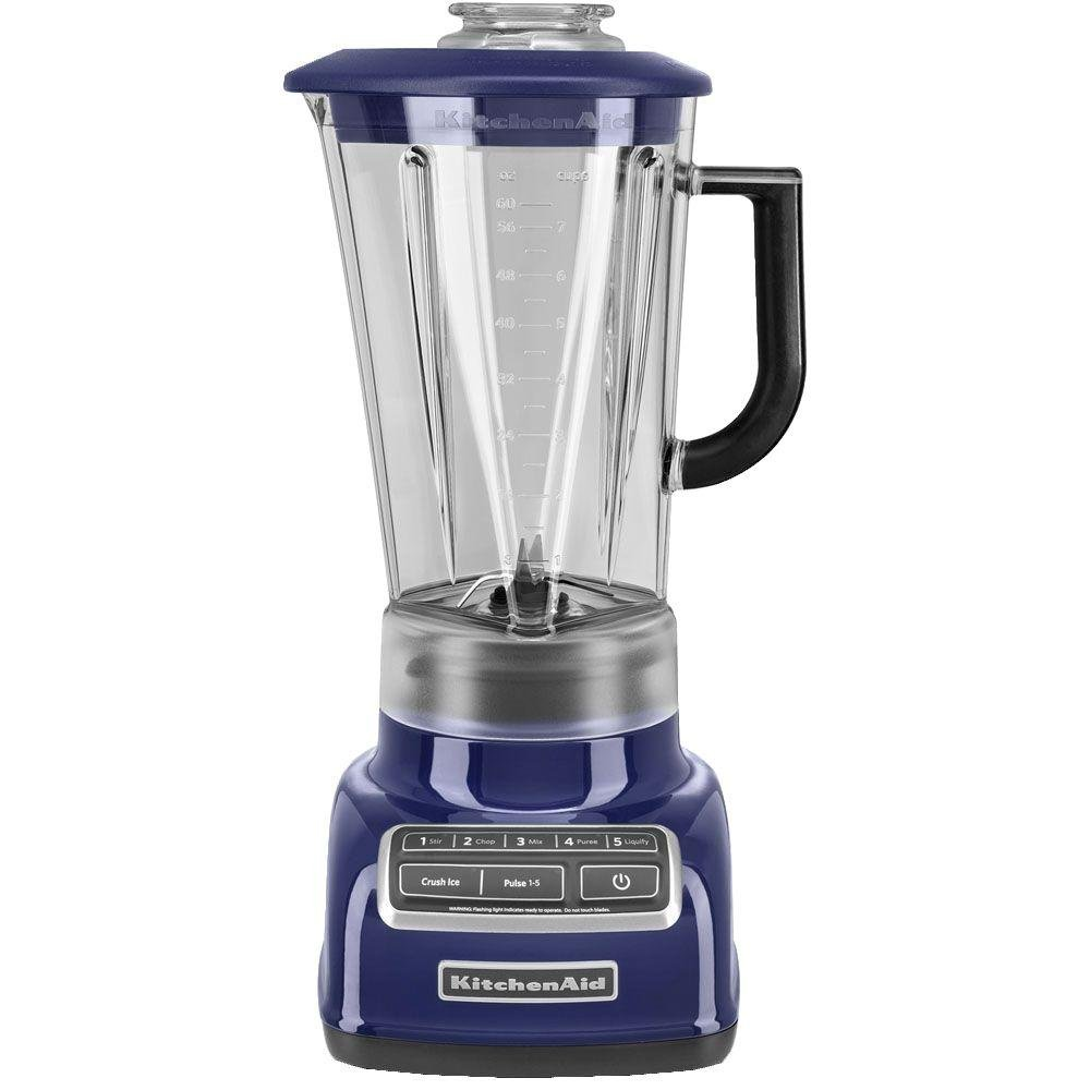 KitchenAid 5 Speed Diamond Blender - Cobalt Blue
