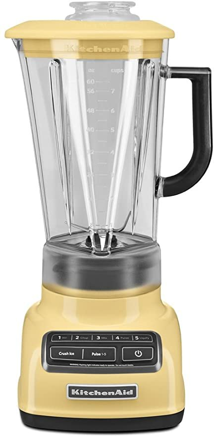 KitchenAid 5 Speed Diamond Blender - Majestic Yellow