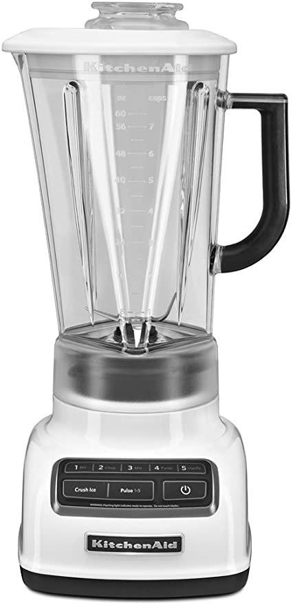 KitchenAid 5 Speed Diamond Blender - White