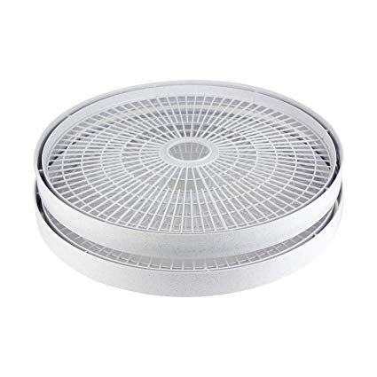 Nesco SnackMaster Dehydrator Add-A-Tray 2pk - Gray