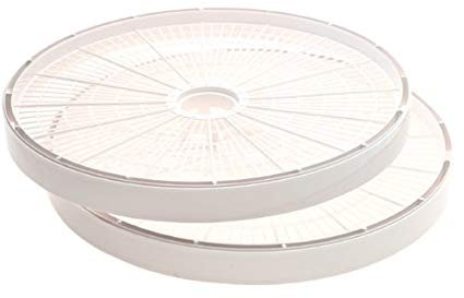 Nesco SnackMaster Dehydrator Add-A-Tray (2-Pack) - White - LT-2W