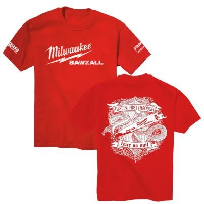 Milwaukee Sawzall T-Shirt - Large