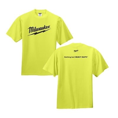 Milwaukee Safety Green T-Shirt - Medium