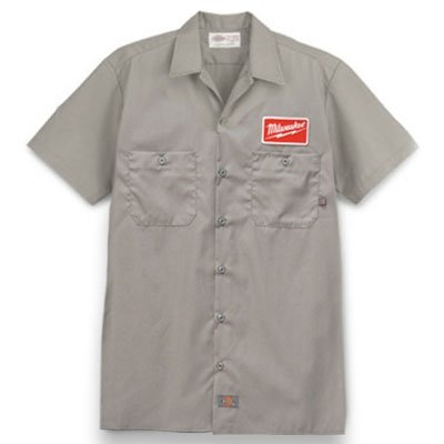 Milwaukee Dickies Work Shirt- Large