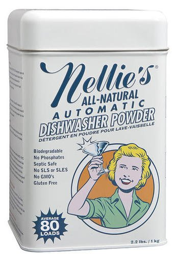 Nellie's Dishwasher Powder Tin - 80 Scoops