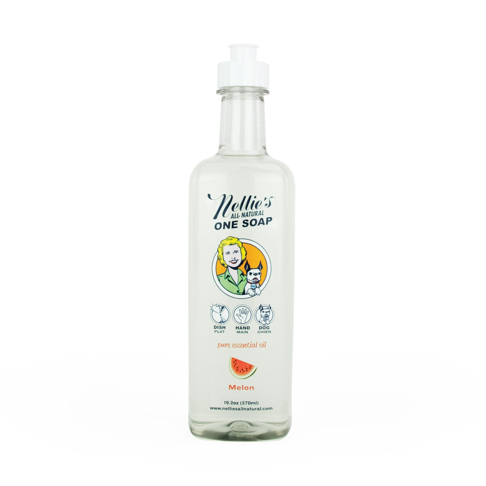 Nellie's One Soap - Melon