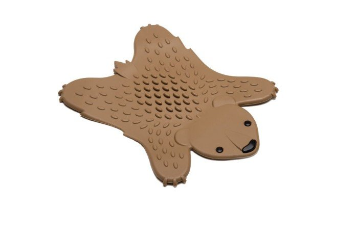 Grizzly Hot Pot Trivet - Brown