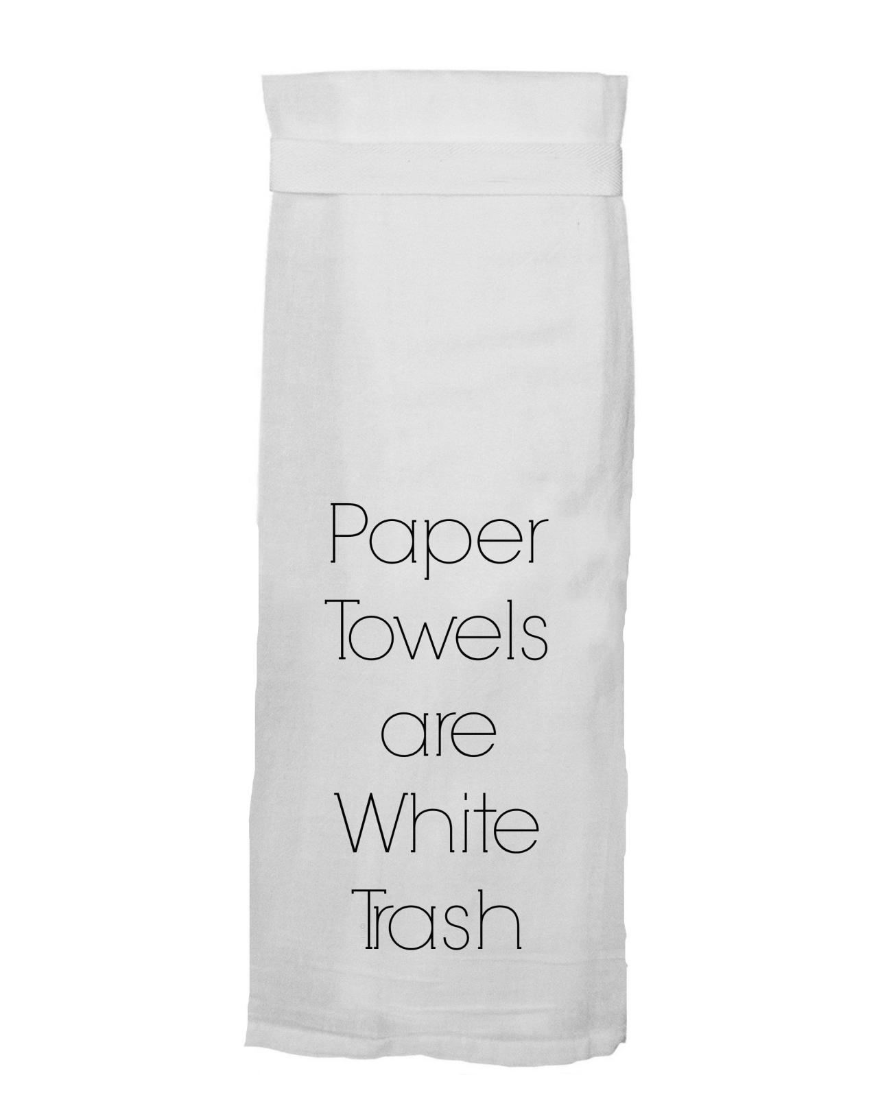 Flour Sack Towel - Paper Towels