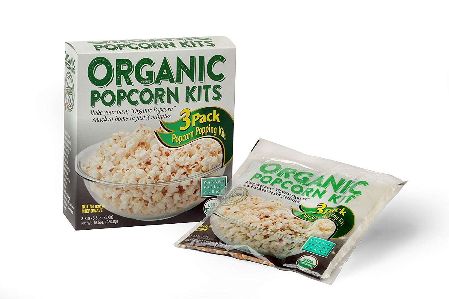 Organic All-Inclusive Popping Kit - 3 Pack