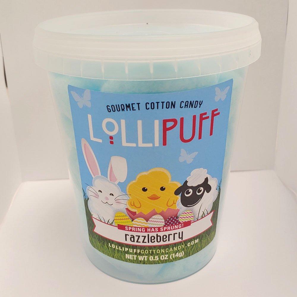 Lollipuff Cotton Candy Tub - Razzleberry