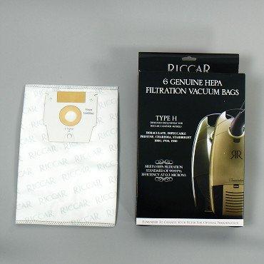Riccar Type H Vacuum Bag - 6 Pack