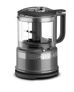 KitchenAid 3.5 Cup Chopper Refurb - Liquid Graphite