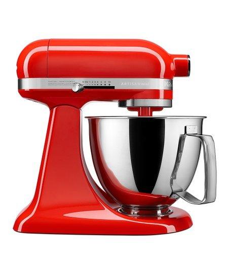 KitchenAid 3.5qt Mini Stand Mixer Refurb - Hot Sauce