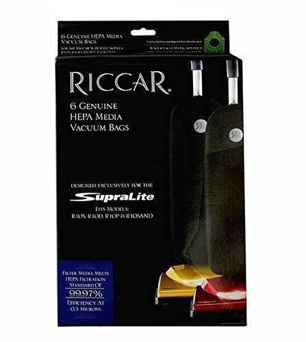 Riccar Type L Vacuum Bags - 6 Pack