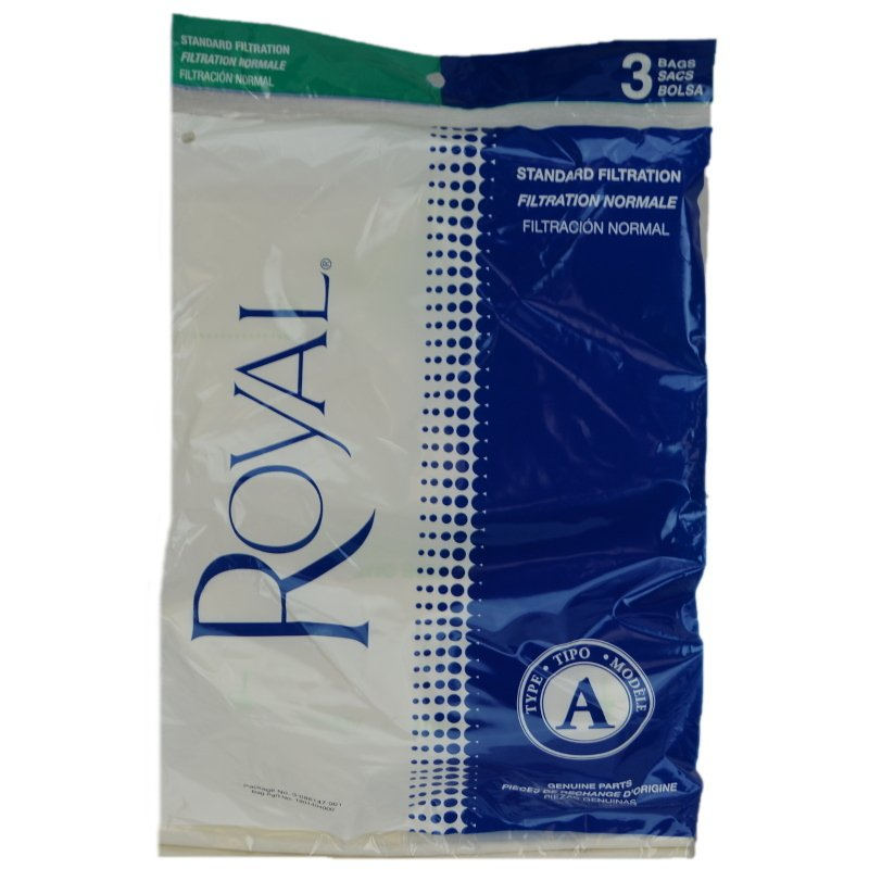 Royal Vacuum Bags - Type A (3-pack)