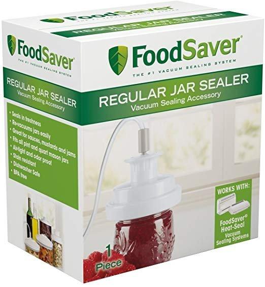 FoodSaver Reg Mouth Jar Sealer
