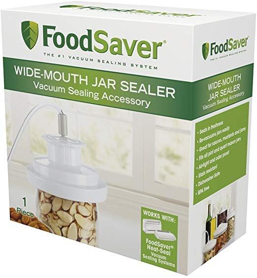FoodSaver Wide Mouth Jar Sealer