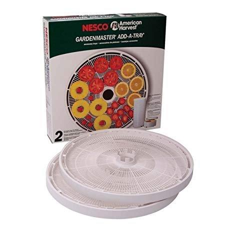 Nesco GardenMaster Dehydrator Add-A-Tray 2pk