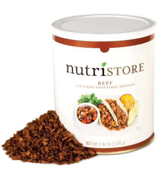 Nutristore Beef TVP (Textured Vegetable Protein) - 2.42lb