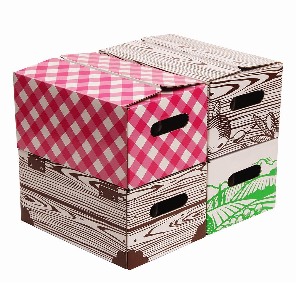 Jar Storage Box - Quart 4pk