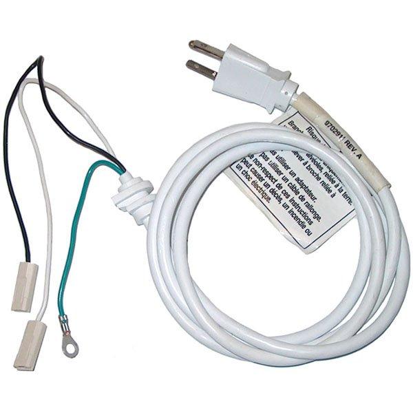 KitchenAid 5 & 6 Qt Mixer Cord - White