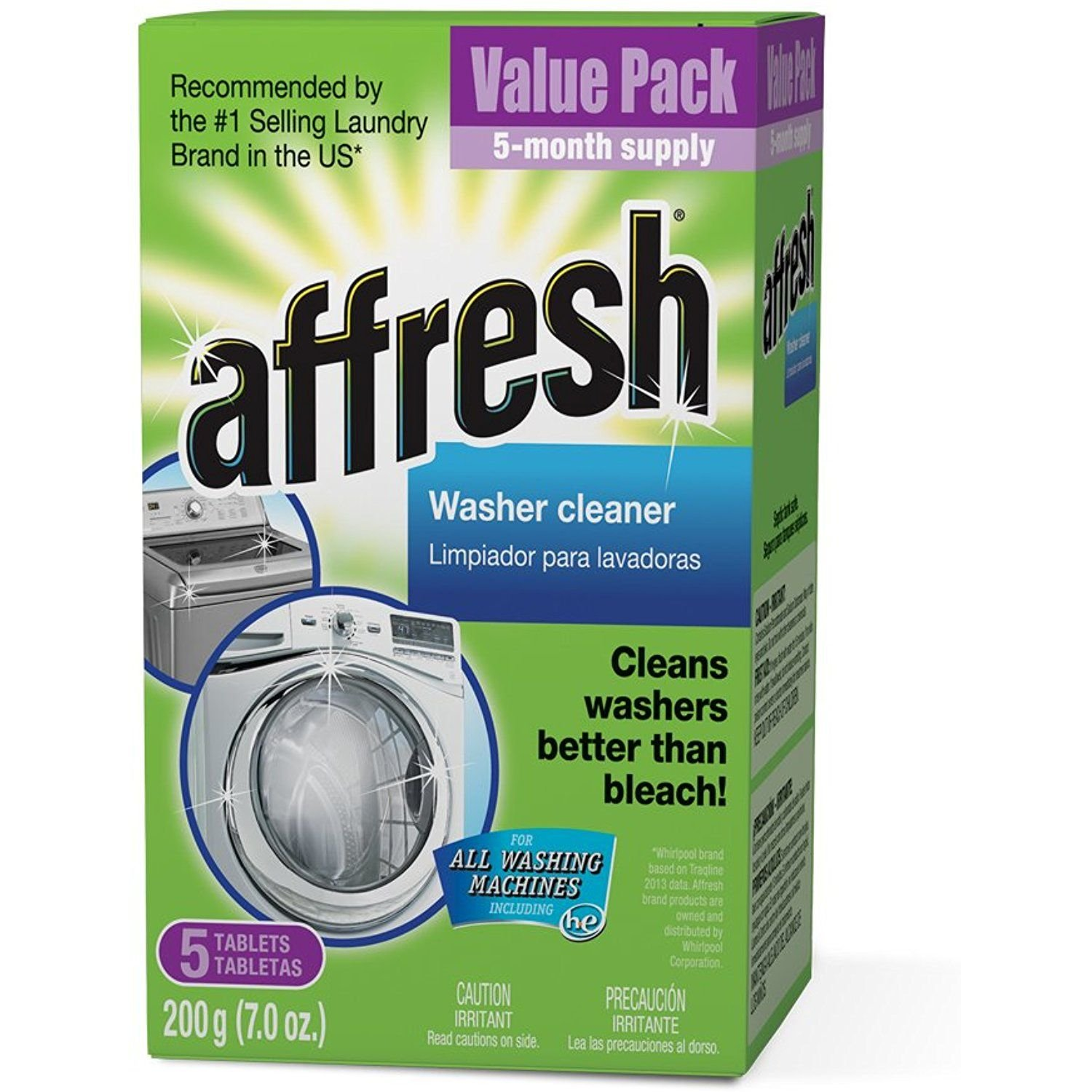 Affresh Washer Cleaner 5pk