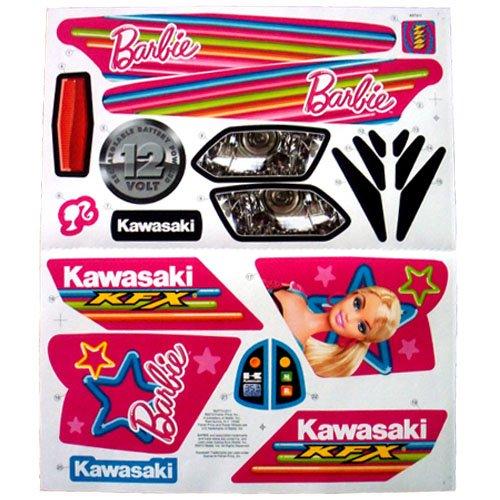 Quad Label Sheet Barbie