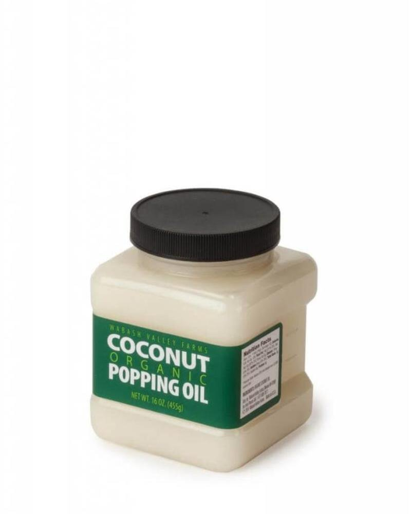 Organic Coconut Popping Oil 16oz