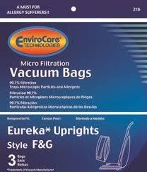 EUREKA / SANITAIRE  F&G  BAGS 3PK