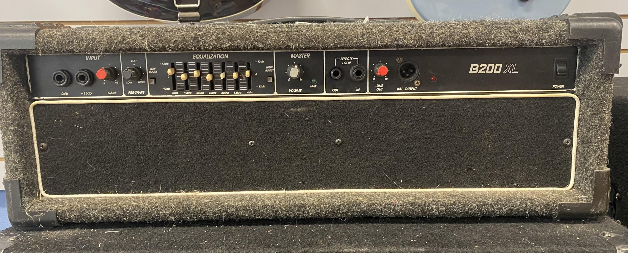 Used Crate B200XL Bass Head
