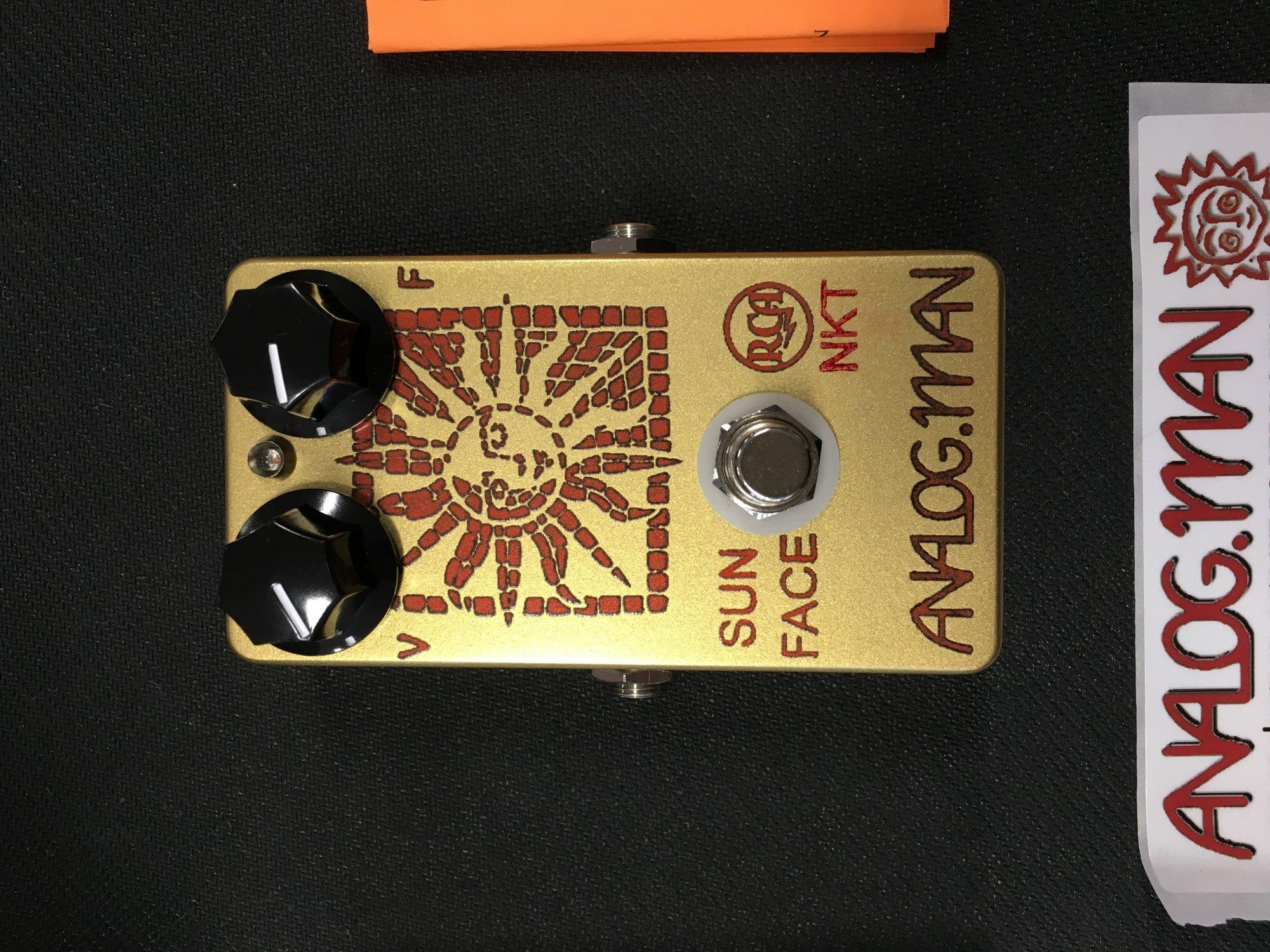 Analogman Sun Face NKT/RCA